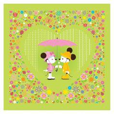 """Disney artist Jerrod Maruyama's Flower & Garden 2015 artwork """"Spring Has Sprung."""" Love this!!"""