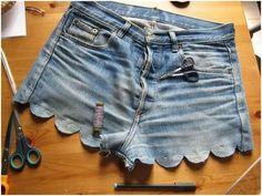 shorts diy in Spanish