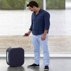 Smartphone-Controlled Suitcase Follows Users Through The Airport