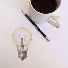 Let ideas be the fuel to your inspiration. Coffee Drawing, Coffee Painting, Coffee Art, Coffee Shop, Graphite Drawings, Pencil Drawings, Natural Mugs, Pencil Design, Artsy Fartsy