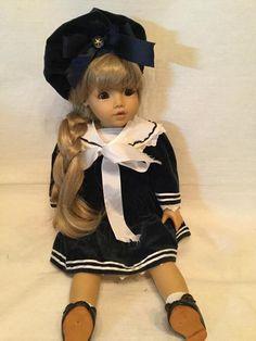 Морячка Principessa Joke Grobben для Gotz / Коллекционные куклы (винил) / Шопик. Продать купить куклу / Бэйбики. Куклы фото. Одежда для кукол