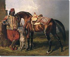 Alfred De Dreux - An African groom