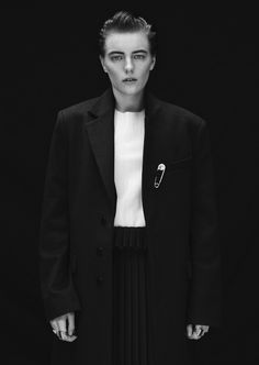 Erika Linder In 'Man Up' By Stefan Zschernitz For Twin Magazine #9 Fall 2013 - 8 Style | Sensuality Living - Anne of Carversville Women's Ne...