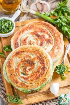 Лепешки с зеленью - кулинарный рецепт