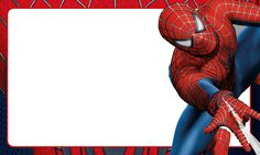 Etiqueta Escolar Personalizada Homem Aranha 3