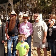 2016 Heritage Days Open House Beard & Mustache Competition at Manatee Village Historical Park