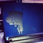 Laptop VinylTat