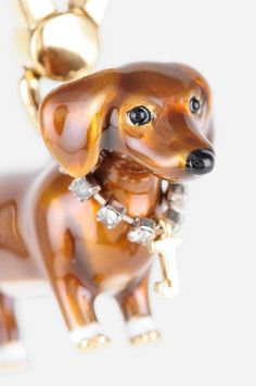 Dachshund charm Unsurprisingly sold out :( Dachshund Art, Dachshund Puppies, Pet Dogs, Daschund, Doggies, Dog Jewelry, Jewlery, Jewelry Accessories, Weenie Dogs