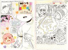 Comics by Ana Hinojosa