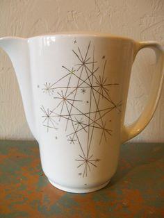 vintage atomic mid century coffee pot