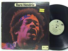 Jimi Hendrix Rare Hendrix Phoenix. LP #Vinyl Record
