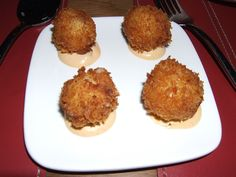 Jewel Bako and DegustationSmoked Bacon / Apple Croquettes