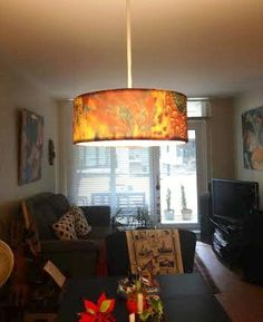 A passion for color lampshade slip covers from dress a shade dave symington writes thanks looks good about autumn feather slip cover for lamp shades mozeypictures Gallery