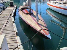 CKD Boats - Roy Mc Bride: A Dragon class yacht uncovered Classic Sailing, Classic Yachts, Classic Boat, Wooden Sailboat, Wooden Boats, Dragon Classes, Sailing Dinghy, Boat Kits, Engine Rebuild