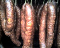 sk - Hľadám klobasa v receptoch Food 52, Sausage, Meat, Straws, Index Cards, Sausages, Chinese Sausage