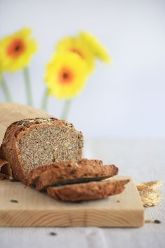 FIVE SEED SOURDOUGH - the easiest most delicious bread ever! No knead, wheat free, yeast free, dairy free, egg free, sugar free, vegan,…