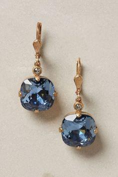 beautiful stone drop earrings