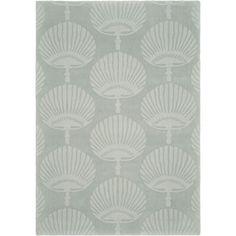 Safavieh Handmade Sea Shells New Zealand Wool Rug