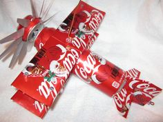 Handmade Coca Cola can airplane cool wind by CANARTCRAFTS2204