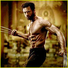 Hugh Jackman. Aaaah, more Wolverine please! After seeing his last movie, I think this time, they should have him fight Apocalypses in the next sequel. Now that would be a hot movie.