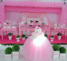 Ballerina party. This could easily be changed for a princess party