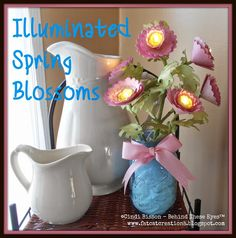 Illuminated Blossoms Spring Craft