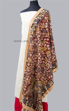 Hand-painted Kalamkari Suit