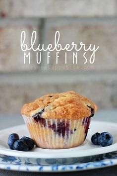 Best blueberry muffin recipe. So easy and perfect to keep in the freezer for busy mornings.
