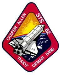 STS-62 Columbia March 4, 1994 - March 18, 1994