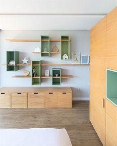 Awesome 18 Extraordinary Study Room Design Ideas For Your Child Study Room Design, Home Room Design, Kids Room Design, House Design, Design Design, Design Ideas, Interior Design, Baby Room Decor, Bedroom Decor