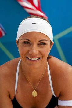 Misty May-Treanor -3rd time Gold Medalist Beach Volley Ball! My idol