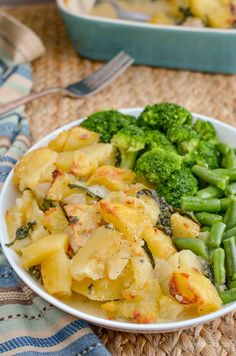 Slimming Eats Chicken and Spinach Pie - gluten free, slimming world and weight watchers friendly