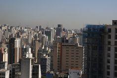 Olhando para Zona Sul de São Paulo a partir do centro