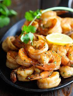 nom-food:  Sweet lemon shrimp
