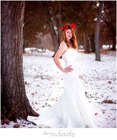 Dawnhonskyphotography  Coloradophotographer  Newyorkphotographer  Colorado winter bridal snow photosession