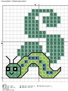 alfabeto degli insettini S