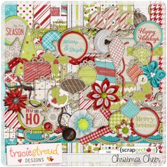 This is a really fun Christmas kit!