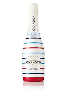 Limited edition sparkling wine bottle design. #chandon #design