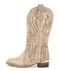 Look at this VOLATILE Taupe Rascally Boot on #zulily today!