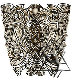 old+norse+tattoo+designs | Recent Custom Works: Some Norse Tattoo Designs