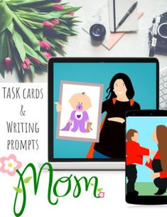 Looking for a digital project students can share with their mother's this Mother's Day? This Google Slides template has 5 different Mother's Day writing prompts and task cards for students to type and manipulate into place.Students also have a place to enter photos to create a beautiful and meaningf... Learning Resources, Teacher Resources, School Holidays, Happy Holidays, Presidents Day, Holiday Activities, Task Cards, Writing Prompts, Presentation