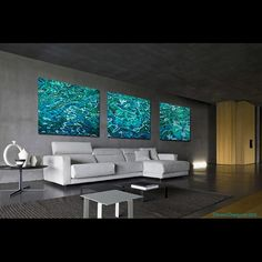 Tonga Triptych Installed    |    Aaron Chang     |    Fine Art Photography