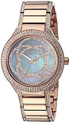 Michael Kors Women's Kerry Rose Gold-Tone Watch MK3482