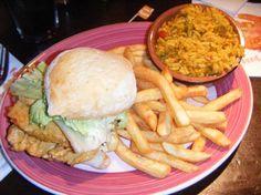 Nando's Chicken Burger Lovely