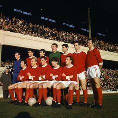 Arsenal F.C. en Highbury en un partido ante el Chelsea F.C, Febrero de 1967, Arsenal gano el partido 2-1