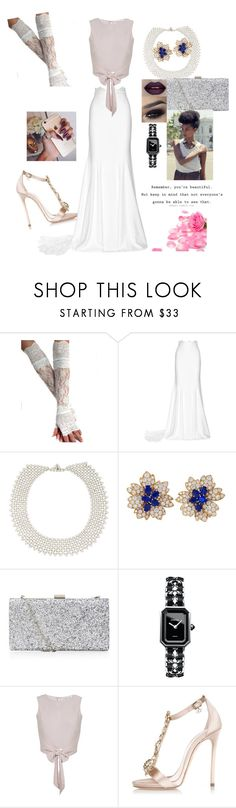 """Blossom"" by omiqueonlife ❤ liked on Polyvore featuring Rime Arodaky, Simon Teakle, Van Cleef & Arpels, Chanel, Miss Selfridge and Dsquared2"