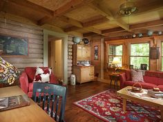 Faith, love, and vision combine to grow a humble log house into a picture-perfect North Georgia cabin. See how these homeowners updated a beloved family cabin for retirement living.