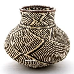 Traditional Nongo baskets handwoven in Africa by BaobabInteriors, £15.00