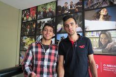 O Guilherme já é aluno de Direito na Una e encontrou com seu amigo Bruno que também veio fazer o Vestibular pra Direito. Ele escolheu a Una pelo reconhecimento e indicação dos amigos. #unaaimores