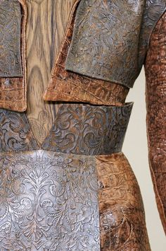 Rodarte armor worthy of Diane de Poitiers